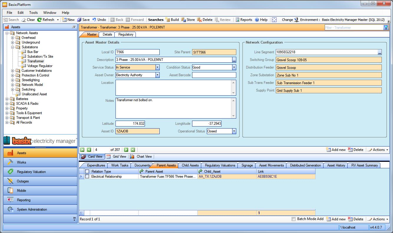 Basix:Electricity Manager screenshot